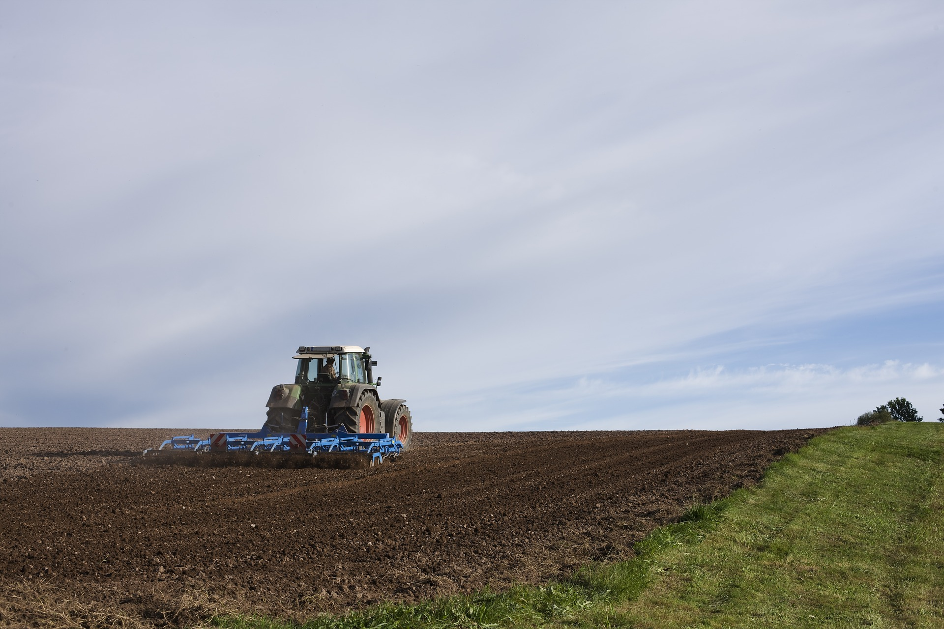 Using Tractors and Trailed Machines